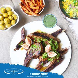 Epicure Dubai - Grilled lamb chops